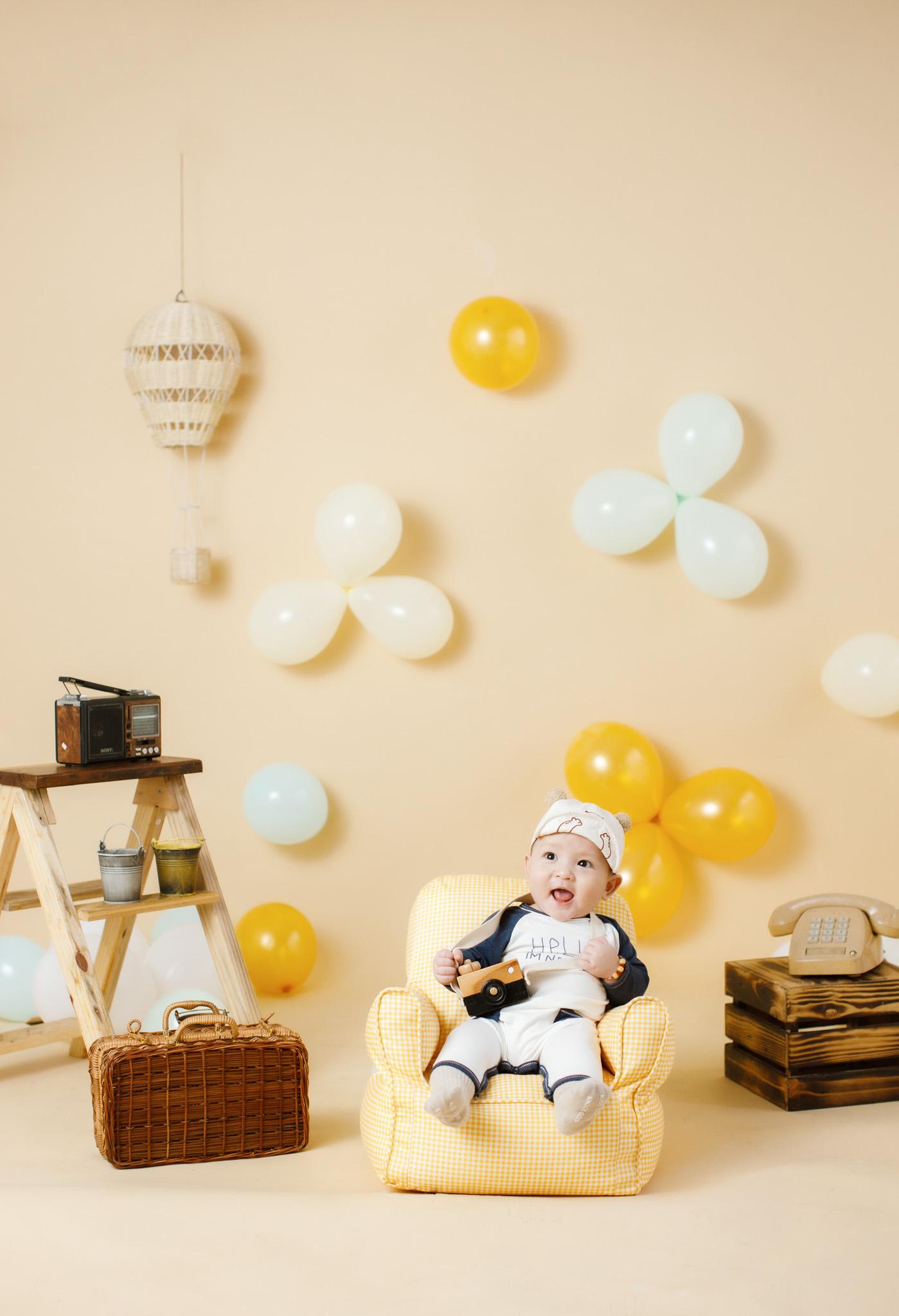 Studio chụp ảnh cho bé ở Nha Trang - Xoài Baby