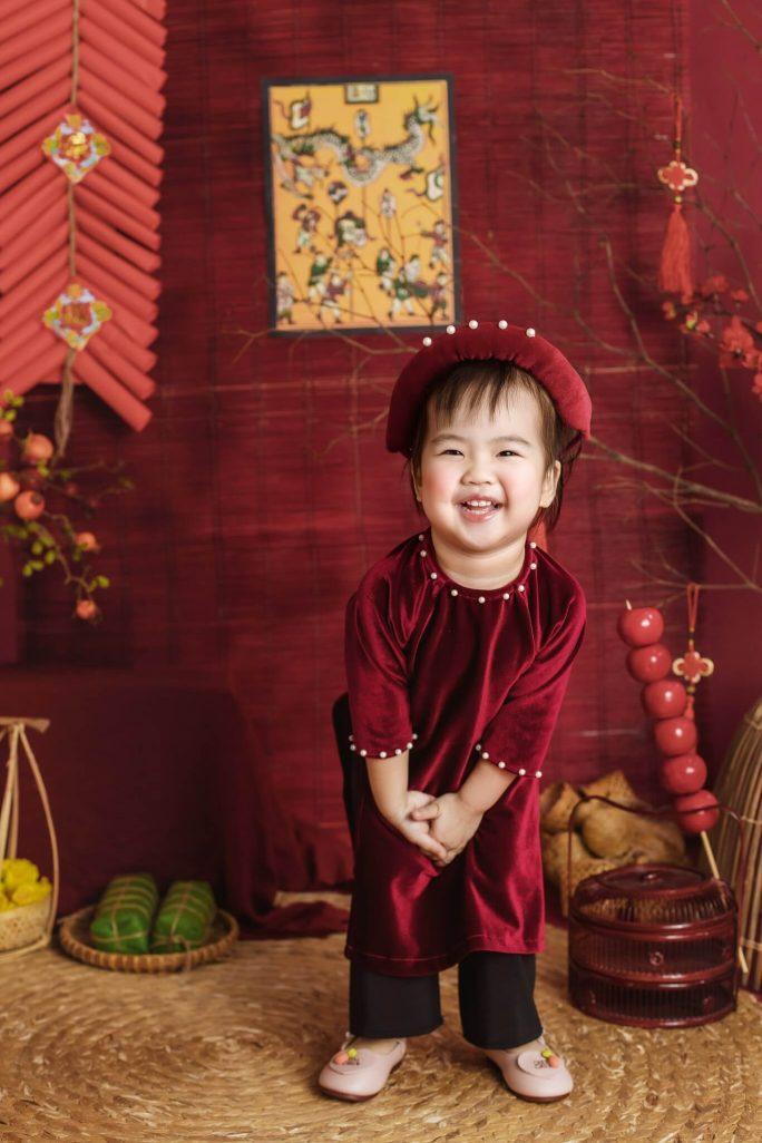 Chụp ảnh Tết đẹp cho bé tại Nha Trang
